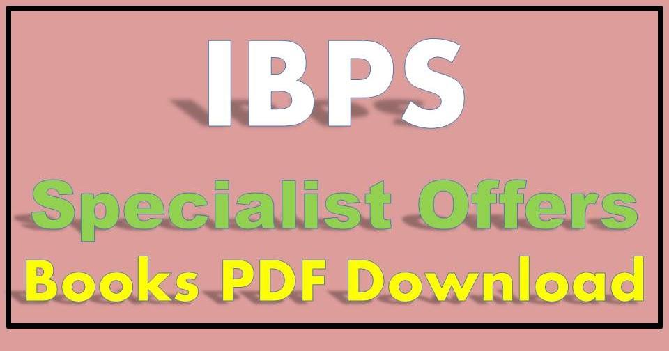 Kiran Publication Ibps Specialist Officer Pdf