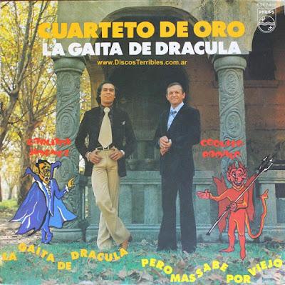 Cuarteto de Oro - La gaita de drácula / Discos Terribles