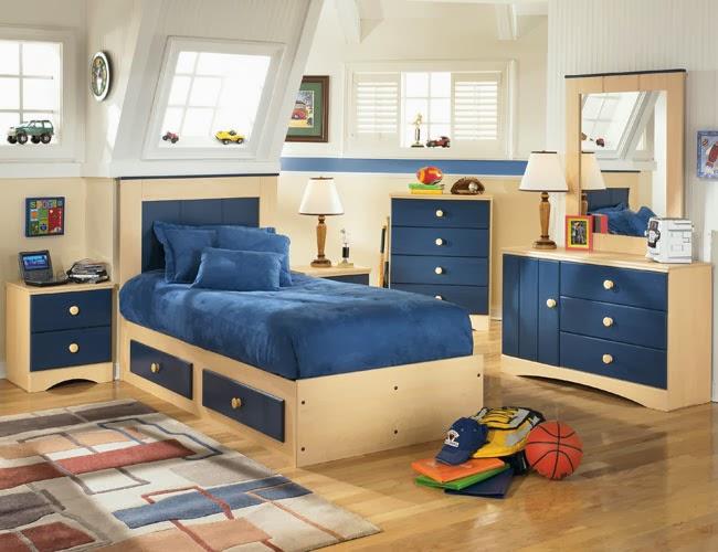 Desain kamar anak laki laki minimalis