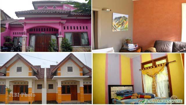 Contoh Rumah Dengan Kombinasi Warna