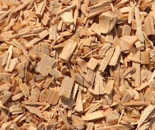 Producción de astillas de madera