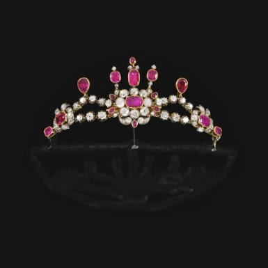 Toptenfashionnew Pink Diamond Tiara Crown