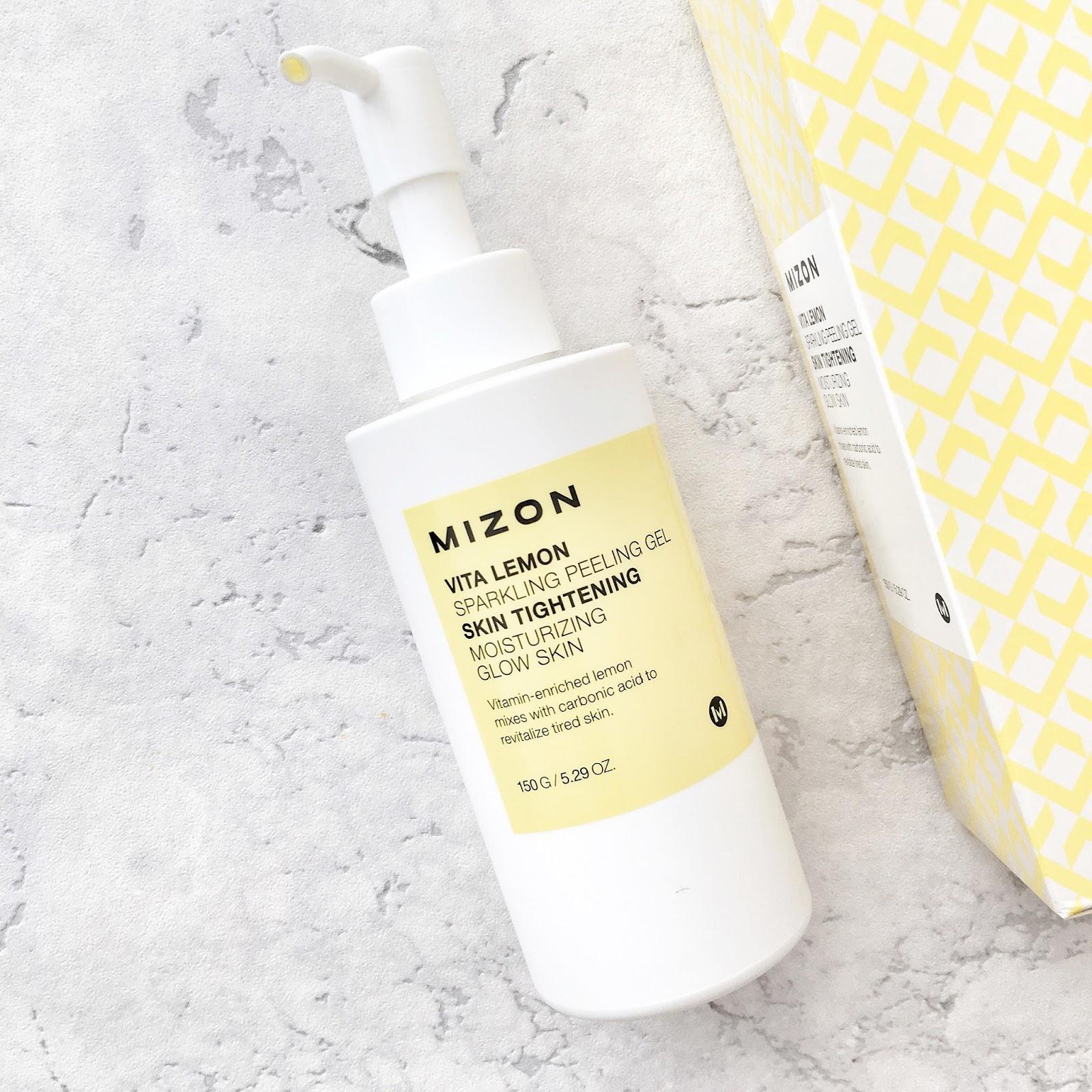 Najlepszy peeling enzymatyczny – cytrynowy peeling MIZON