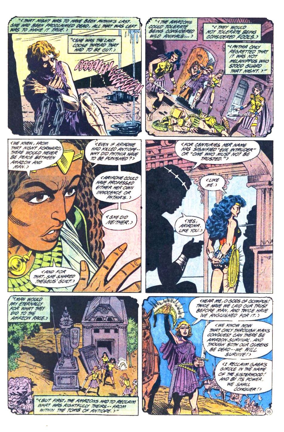 Read online Wonder Woman (1987) comic -  Issue #33 - 19