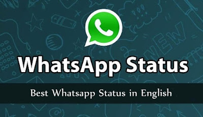 WhatsApp Status in English | English Status