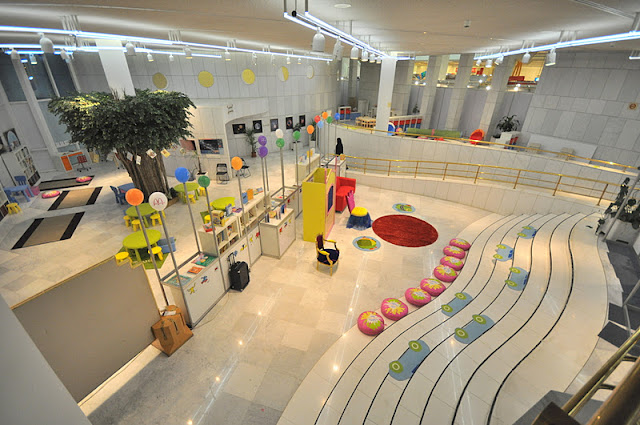 Off Road Design >> Culture Fair for Children in Riyadh » Blue Abaya