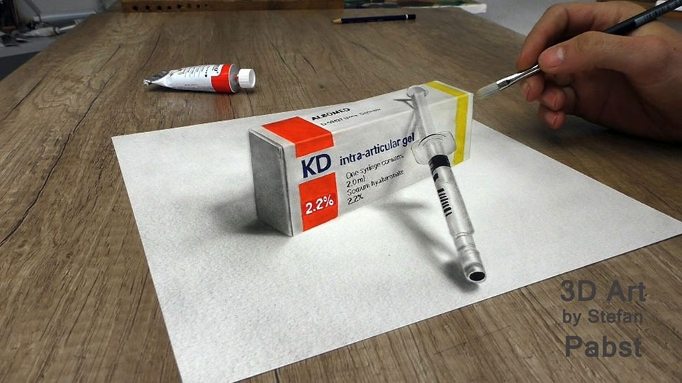 11-Time-for-the-Medicine-Stefan-Pabst-NO-Photoshop-3D-Anamorphic-Drawings-with-Video-www-designstack-co