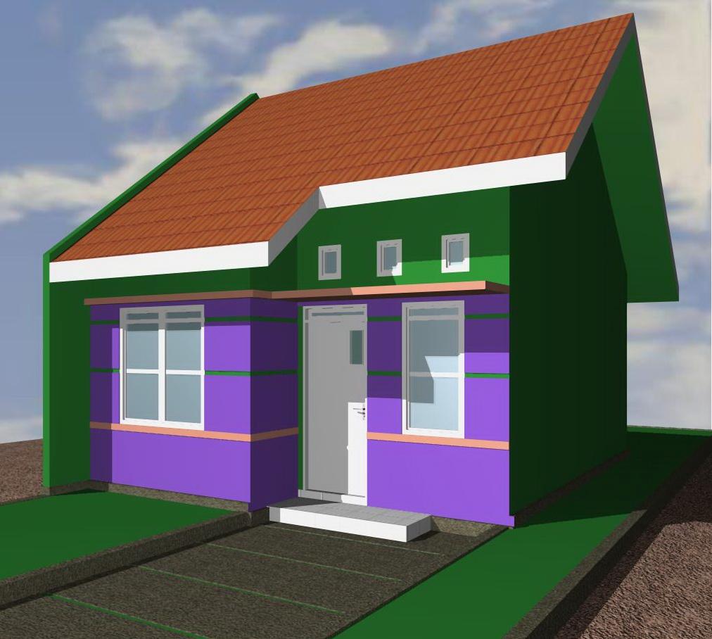 3 Contoh Denah Rumah Minimalis Modern Terbaru: 70 Desain Rumah Minimalis Ukuran 6x18