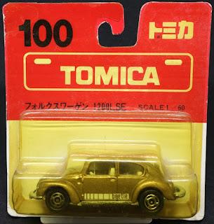 Tomica - 100, 甲蟲車 吸塑包裝