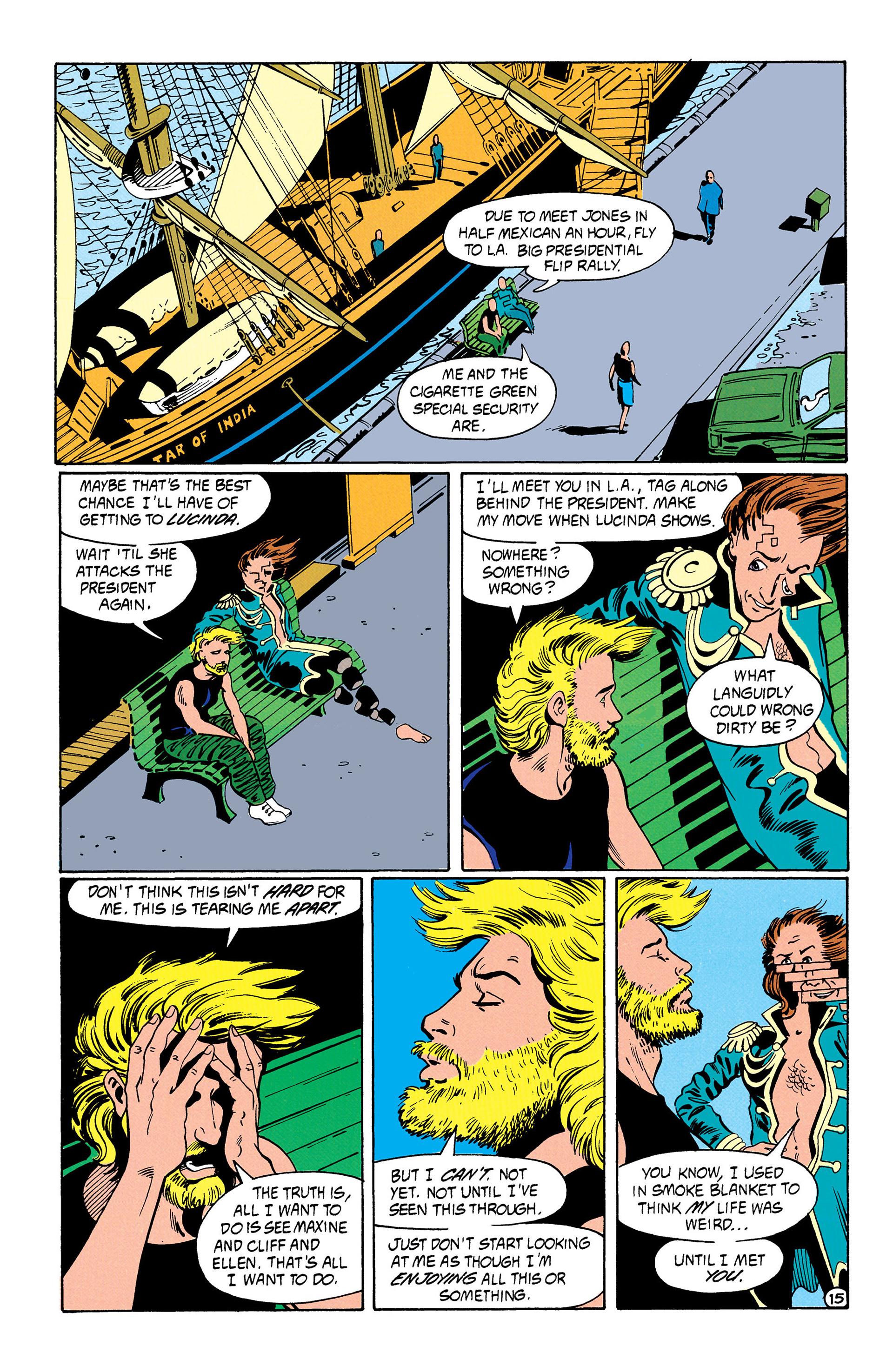 Read online Animal Man (1988) comic -  Issue #31 - 16
