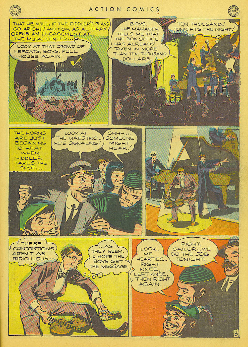 Read online Action Comics (1938) comic -  Issue #91 - 33