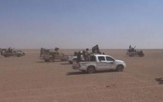 هروب مخزي لقيادات و عناصر داعش الأرهابي من الأنبار بأتجاه سوريا
