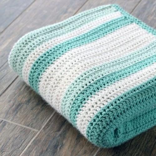 Gorgeous Double Crochet Afghan