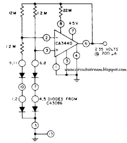 Simple Micro Power Supply Circuit Diagram