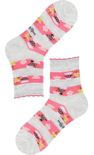 Calzedonia calcetines cortos algodón los Minions para niñas