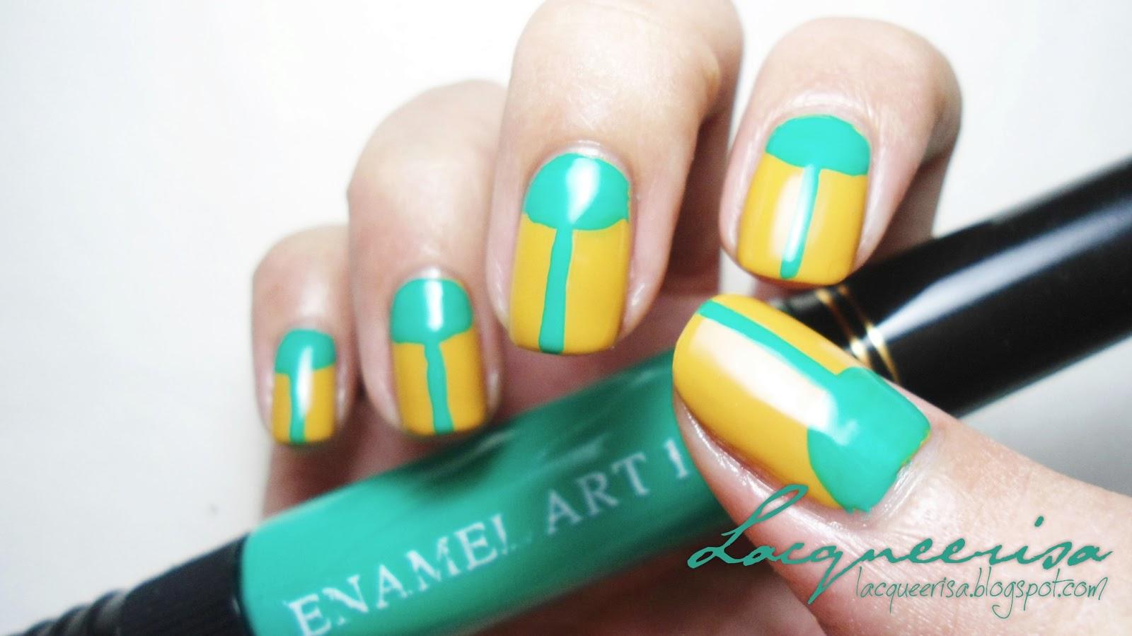 Nail Art Ideas » 2 Way Nail Art Pen And Brush - Pictures of Nail Art ...