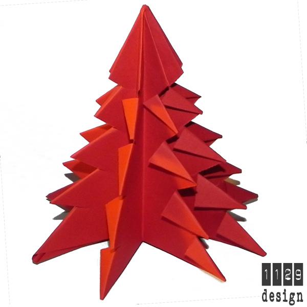 Albero Di Natale Origami.Orecchini E Gioielli 1129design Ispirazioni E Divagazioni Albero Di Natale Origami Fai Da Te Con Cartoncino Colorato O Carta Riciclata Da Libri E Riviste