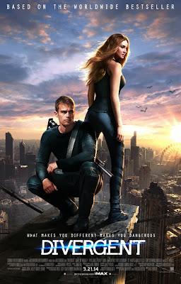 Poster oficial pentru filmul Divergent