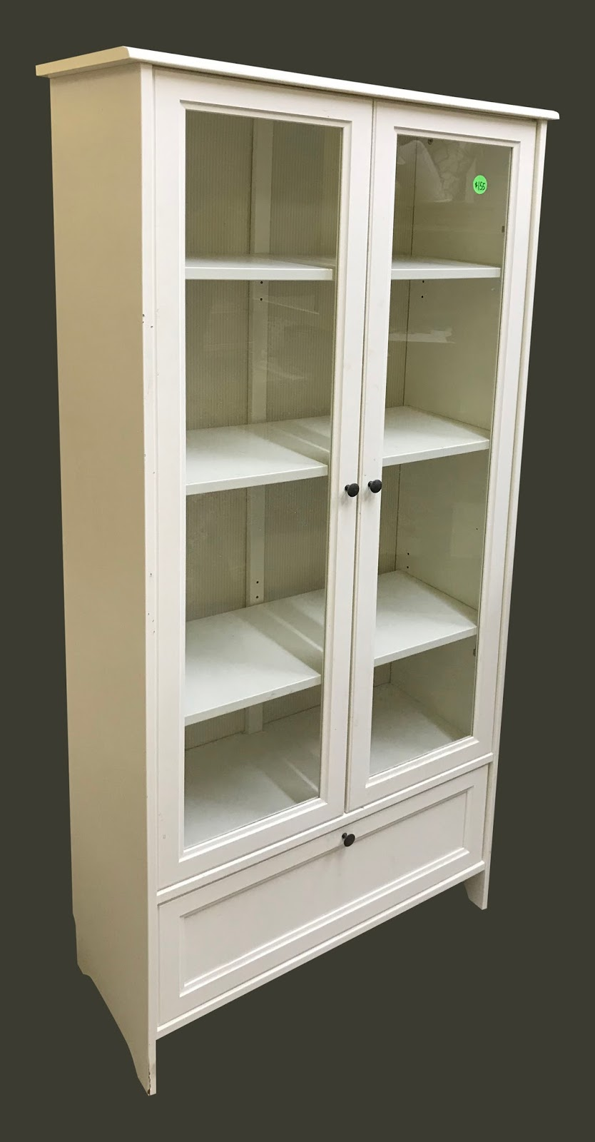 Uhuru Furniture Amp Collectibles Glass Front Cabinet 155