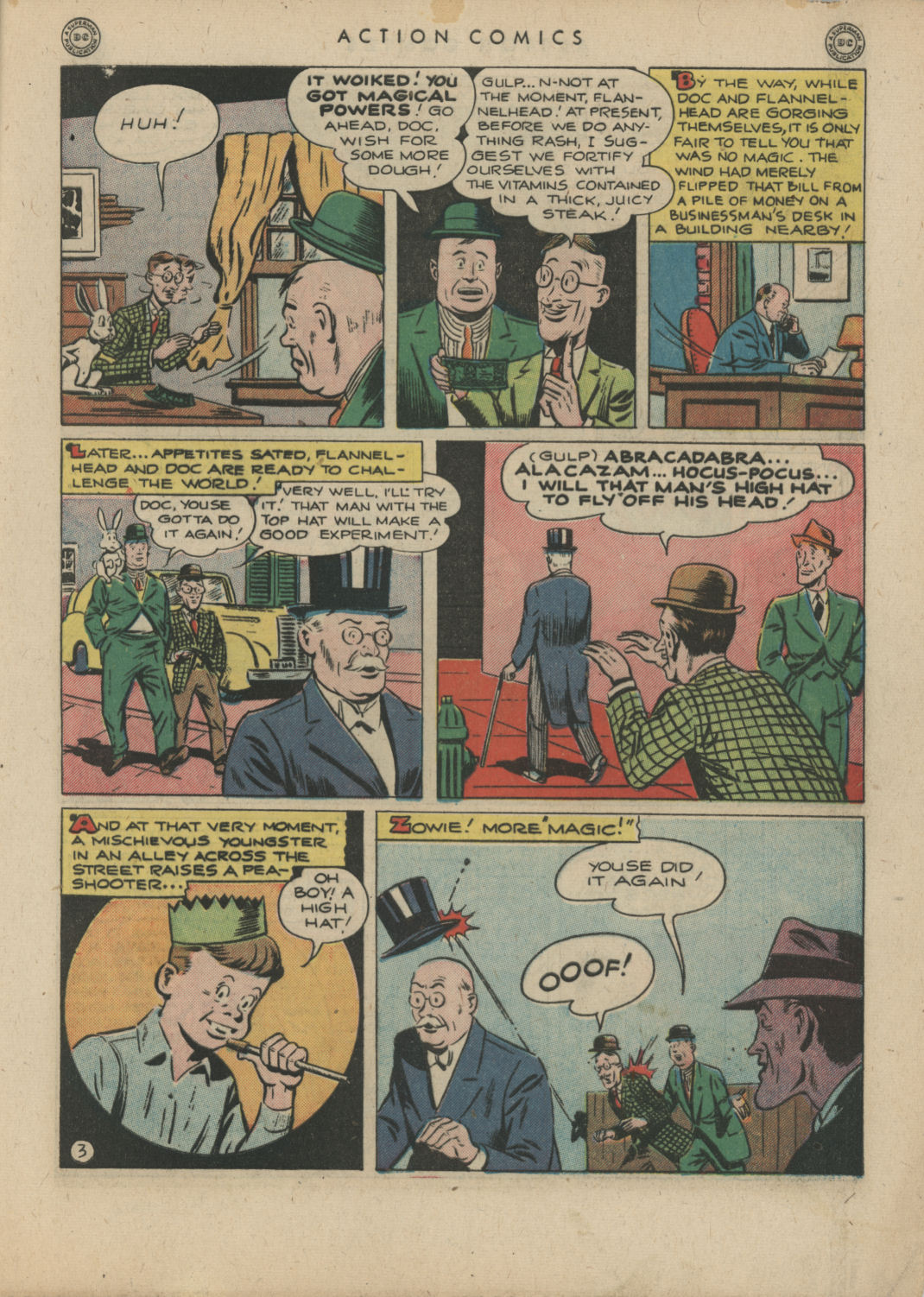 Read online Action Comics (1938) comic -  Issue #83 - 5