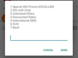 Globe Offers Special IDD Call Promo GoCALLIDD 30, 50, 99, 199 Pesos