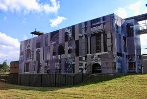 Mural on Boggo Road Gaol, Brisbane.