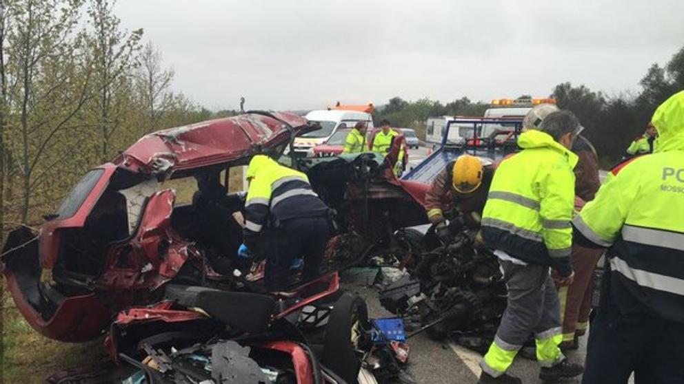 Sire 7 muertos en accidente en la n ii en figueres - El tiempo en figueres ...