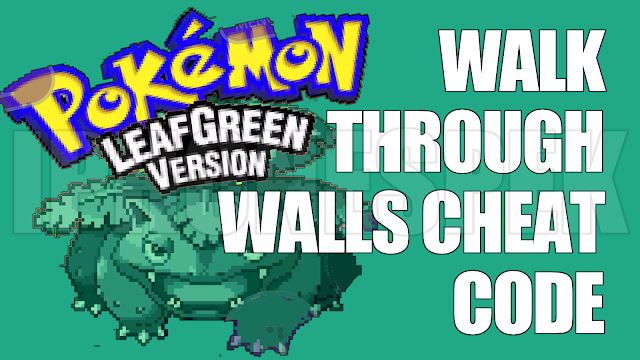 How To Walk Through Walls Pokemon Leaf Green Gba4ios Ios 9 3 4 8 Iphone Ipad Ipod Touch
