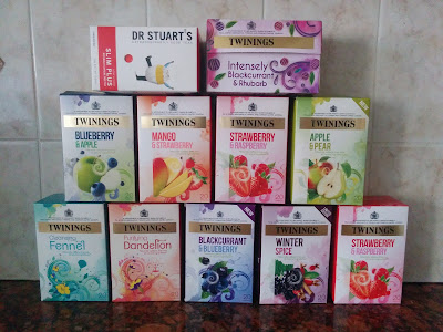 A Small Selection of my Fruit Teas
