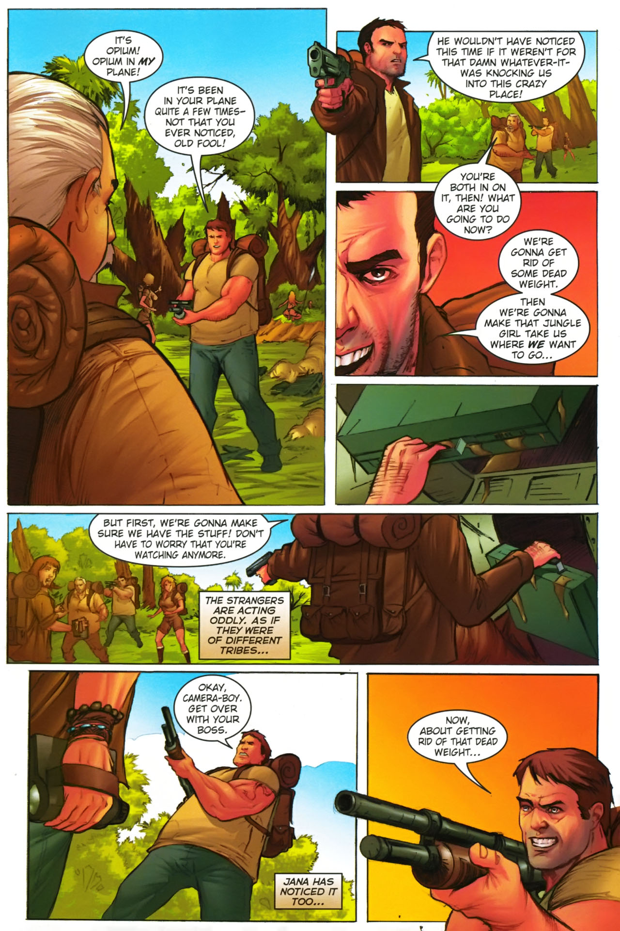 Read online Jungle Girl comic -  Issue #2 - 24