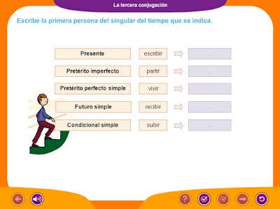 http://www.ceiploreto.es/sugerencias/juegos_educativos_4/10/3_Tercera_conjugacion/index.html
