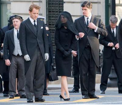 el momento del funeral