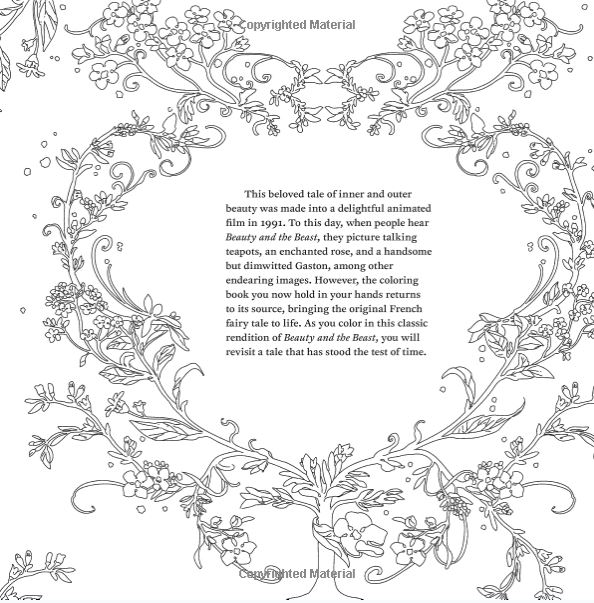 Surlalune Fairy Tales Blog Color The Classics Beauty And The Beast