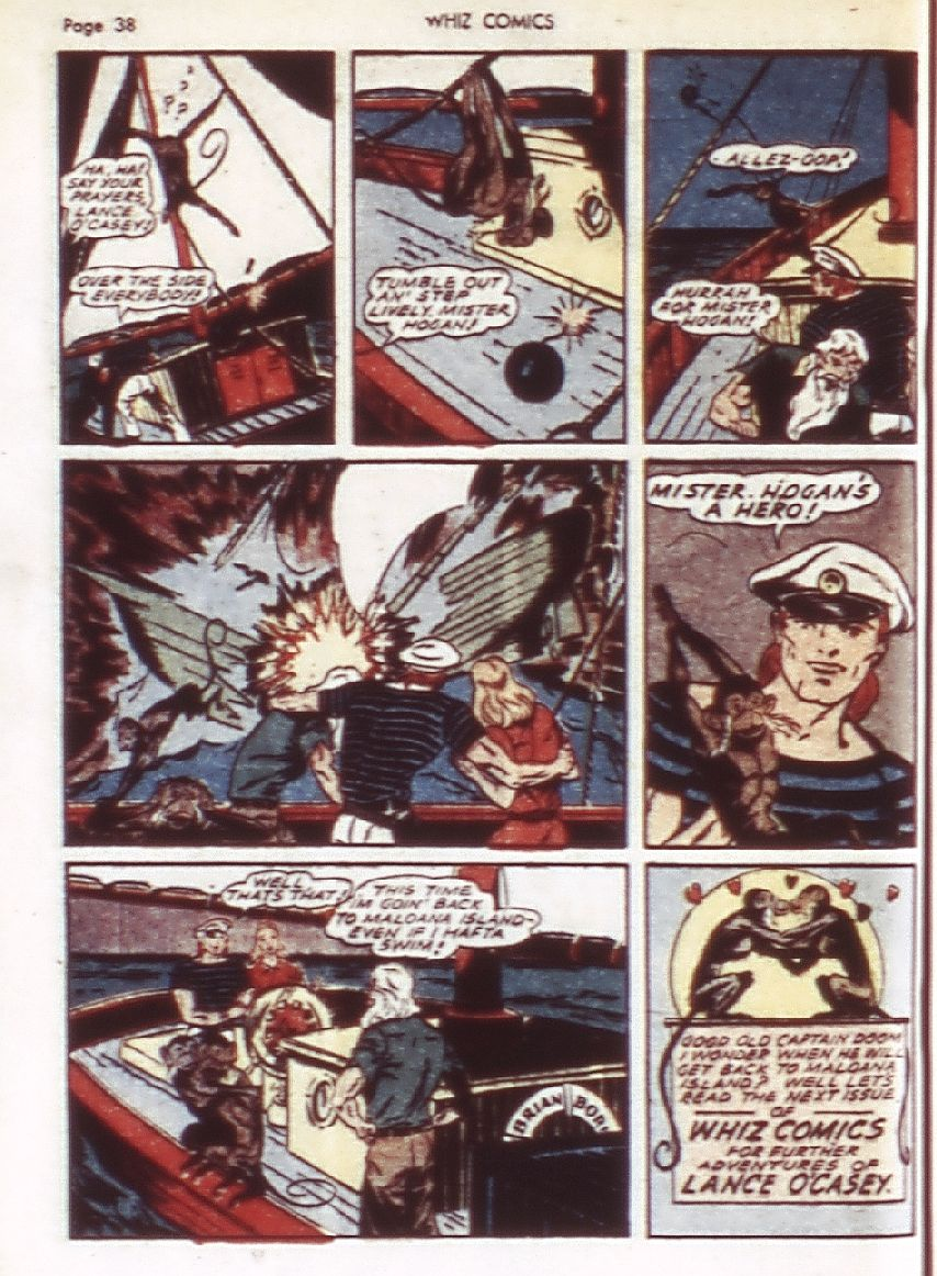 WHIZ Comics issue 22 - Page 40