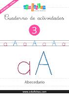 Cuadernillo del abecedario para repasar