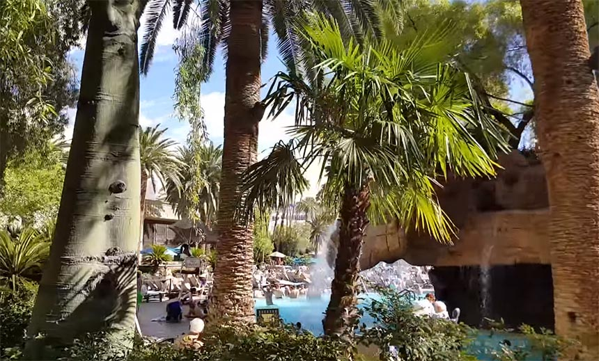 the mirage pool