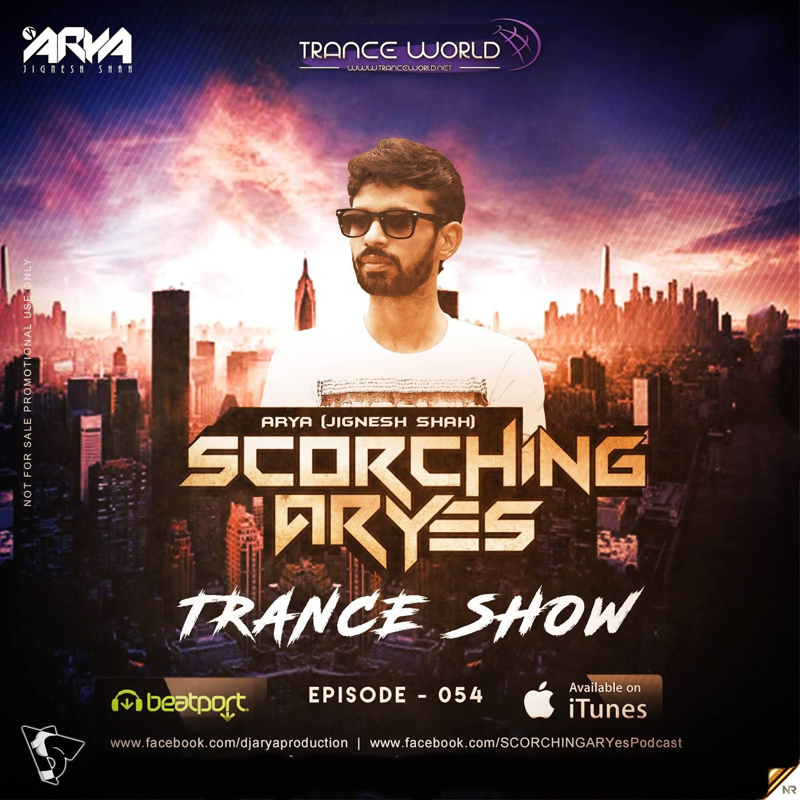 SCORCHING ARYes Episode 054 - ARYA (Jignesh Shah)