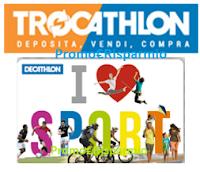 Logo Decathlon : vendi il tuo usato con Trocathlon e ricevi buoni spesa