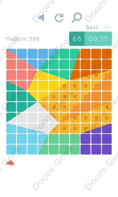 Cheats, Walkthrough for Blocks and Shapes Medium Level 386