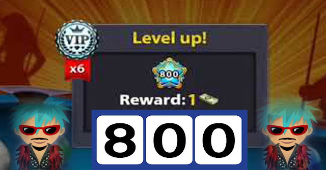8 Ball pool level 800