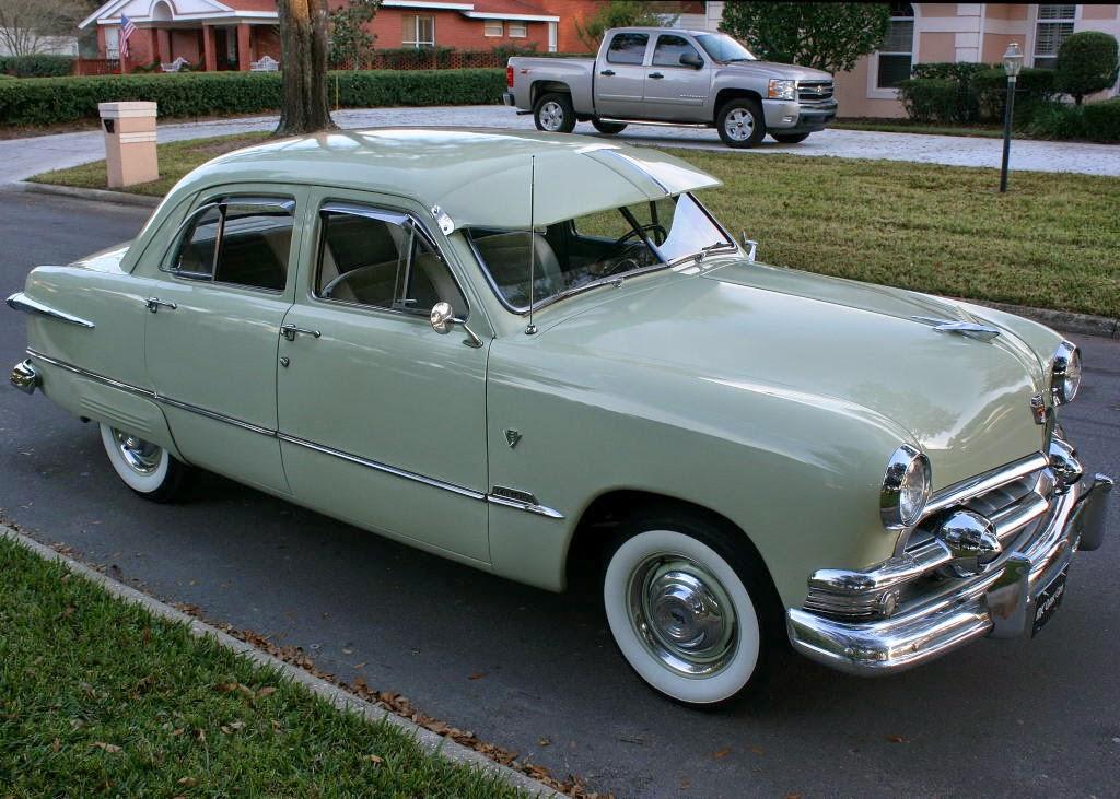 1951 ford custom deluxe 4 door sedan