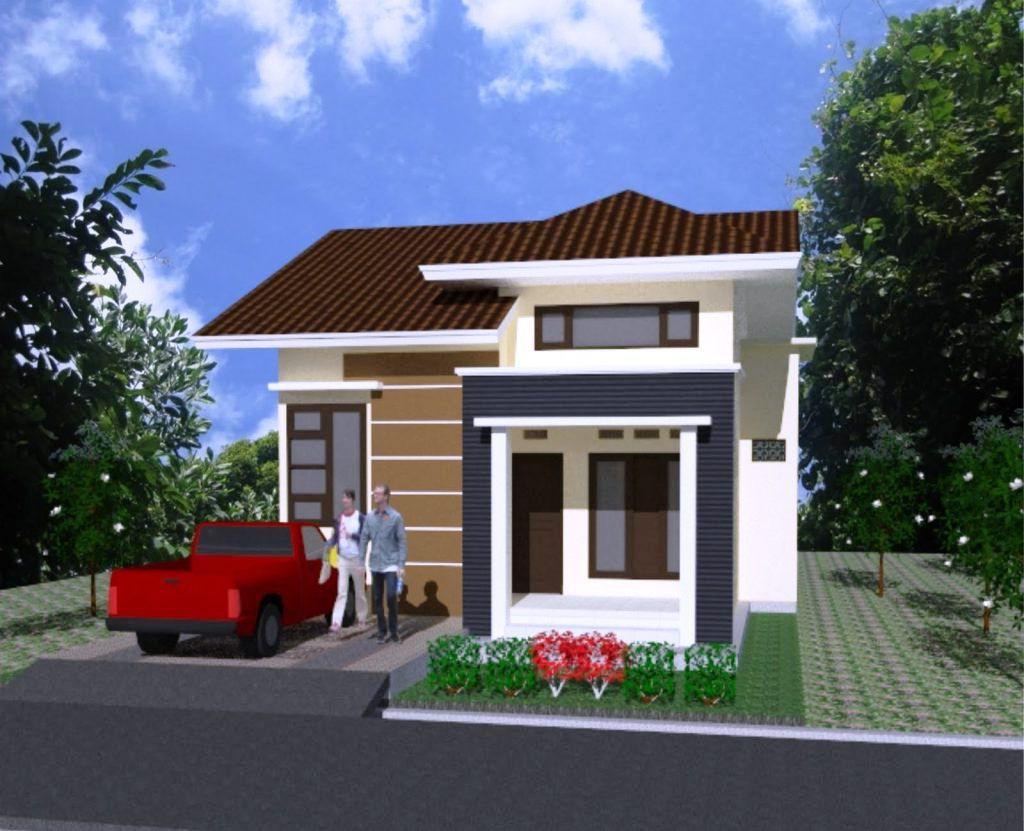 ⊕ 50+ rumah minimalis 1 lantai & 2 lantai tampak depan + samping