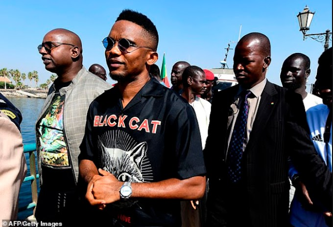 Samuel Eto'o facing paternity lawsuit over 19-year-old girl he allegedly fathered