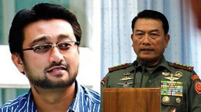 Moeldoko Sebut Peran Projo Setara dengan TNI dan Polri, Rachland Nashidik Beri Tanggapan