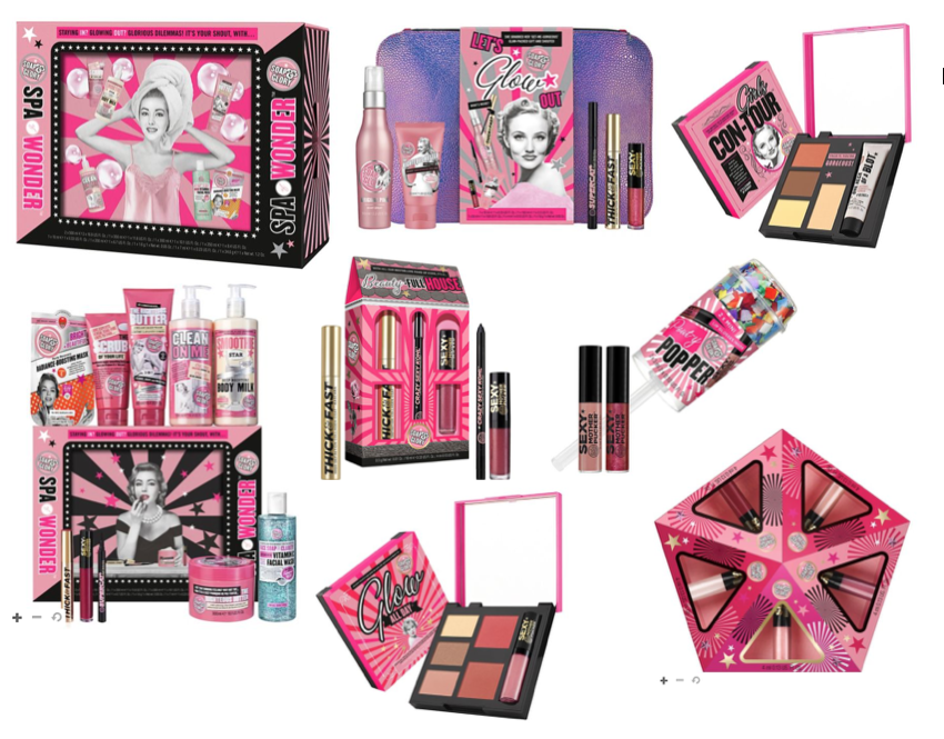 Soap and Glory Christmas Gift Sets 2017