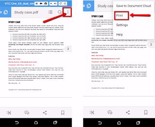 Cara praktis dan cepat print file dari Android dengan Cloud Print