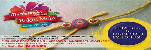 Noida Diary: Rakhi Mela at Community Center Sector 40, Noida