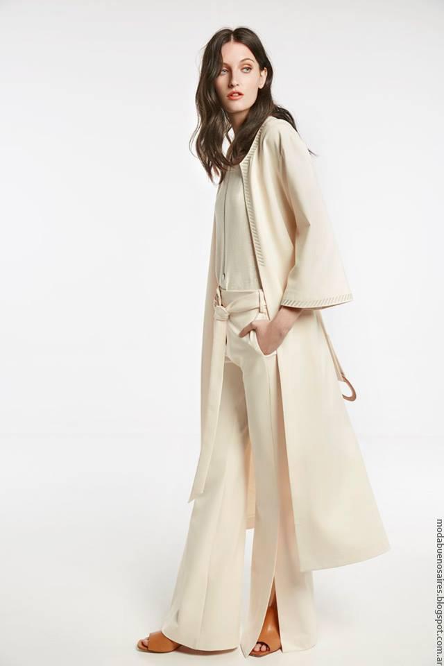 Moda mujer abrigos 2017 María CHer.