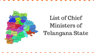 List of Chief Ministers of Telangana State
