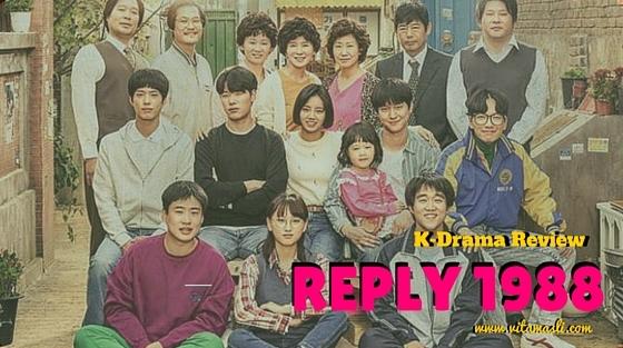 Review Drama Korea Reply 1988, Potret Indahnya Bertetangga, Persahabatan dan Masa Remaja yang Indah